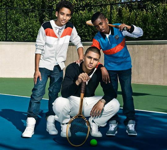 Sean John's boys Fall 2012 Campaign