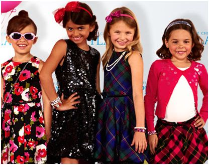 Children's place holiday 2012 looks