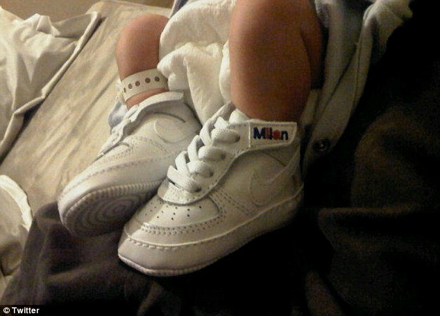 Baby Milan 1st pair of Nikes