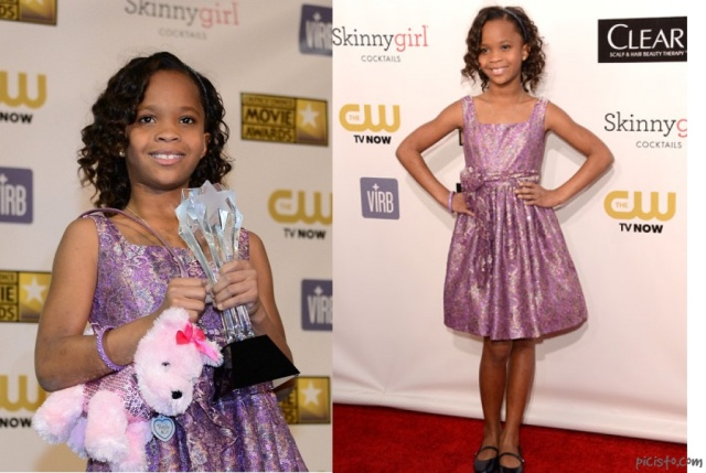 Quvenzhané Wallis wins best youn actress at Critics choice awards