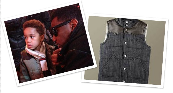 Spotted: True religion Leather Yoke Boy's Vest