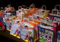Goodie bags for every guest!