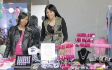 Domonique Mitchell   of Mi Bella Vita LLC and Ka'Ress Boykin of My Lyfe Clothing