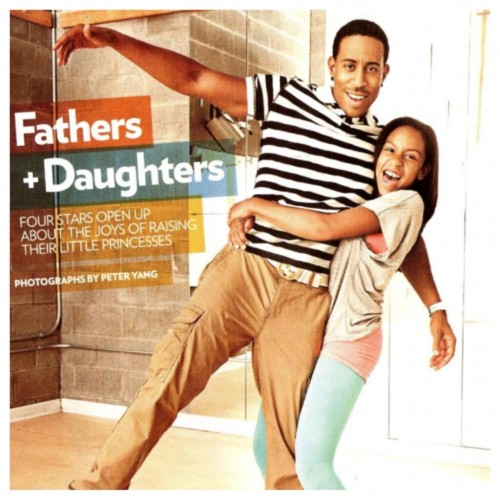Ludacris and his daughter Karma fun photos for People Mag