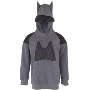 Bang Bang Copenhagen Boys Bat Quilt Hooded Sweatshirt 70 USD